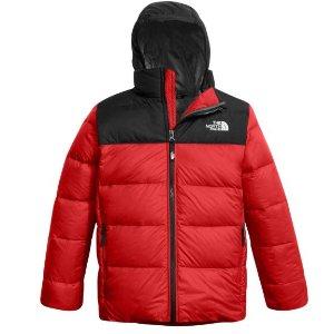 5折 成人可穿大童款The North Face 儿童保暖外套特卖 羽绒款真的特别暖