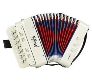 史低价 $19.99(原价$59.99)闪购:Mugig初学儿童手风琴玩具