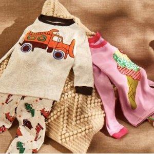低至2.4折 套装最低$7.99即将截止:儿童睡衣套装、睡裙等优惠