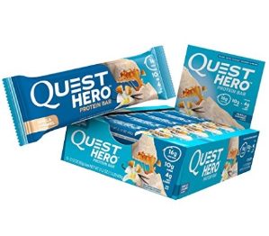 Up to 50% OffQuest Nutrition Hero Protein Bar, Vanilla Caramel @ Amazon