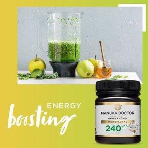 低至2.3折+额外9折Manuka Doctor 蜂蜜促销 高浓度蜂蜜 帮你提高免疫力
