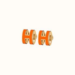 $375起Hermes官网 Pop H耳钉上新热卖