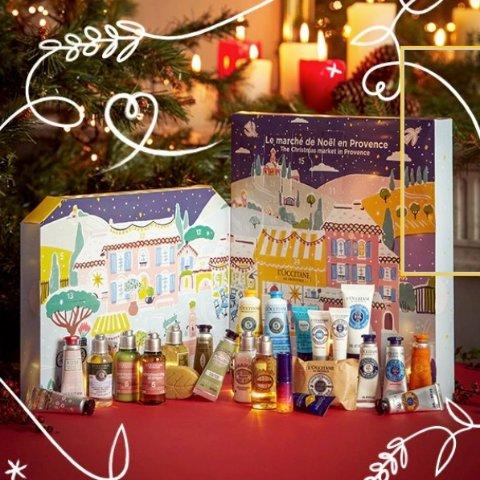变相6折起!£53起收L'occitane 欧舒丹2020圣诞日历开售 2款可选 送礼佳品