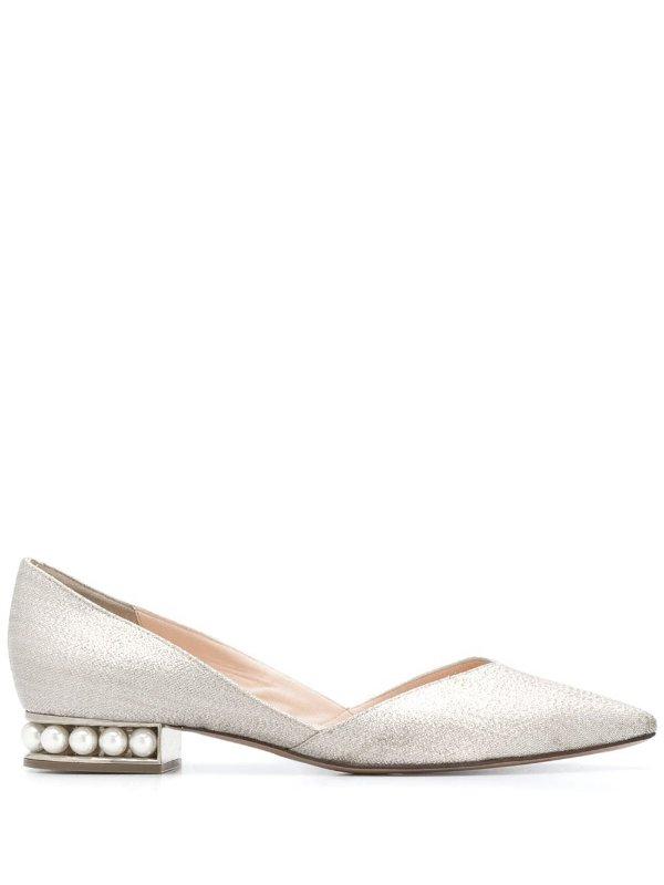 珍珠芭蕾鞋