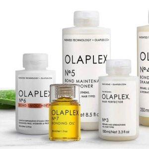 7.5折 €22收火爆3号发膜OLAPLEX 秀发重生秘密武器 干枯烫染发质有救了