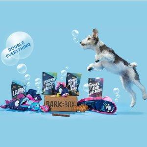 首月礼盒内容物翻倍BarkBox 狗狗神秘礼盒 为汪星人准备的专属礼物盒
