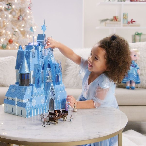 Arendelle 城堡玩具套装,可亮灯