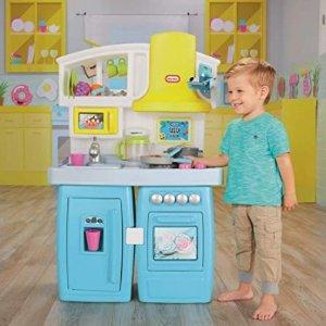 $59.98(原价$99.99)史低价:Little Tikes 豪华小厨房,40多个厨房配件