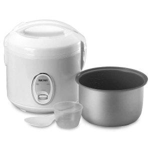 Aroma Housewares 4杯容量电饭煲, 煮后8杯容量