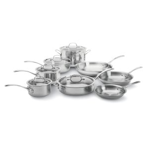 CalphalonCalphalon Tri-Ply Stainless Steel 13-pc. Cookware Set