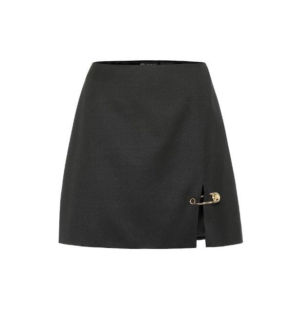 回形针短裙
