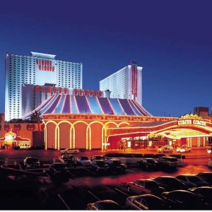 $16/Night Select Rooms  Includes Two BuffetsCIRCUS CIRCUS HOTEL  CASINO & THEME PARK