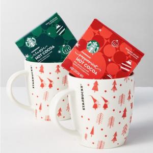 星巴克 咖啡、热可可礼品套装促销热卖