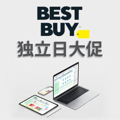 Best Buy 限时大促, iPhone XS系列 最高省$500, 4K电视$229起