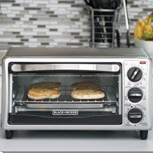 $35.9包邮(原价$44.87)BLACK+DECKER TO1313SBD不锈钢对流烤箱