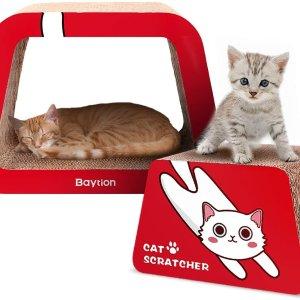 £13收超可爱猫抓板 猫窝套装Amazon精选猫咪专题 夏日萌宠大作战 各种可爱实用好物