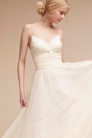 Tinsley Dress Ivory  in  Bride | BHLDN