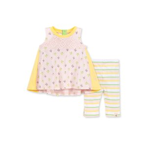 Burt's Bees Baby女婴有机棉套装