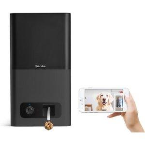 Petcube宠物互动摄像头智能零食投喂器 黑色款