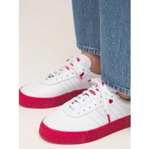 adidas Originals100%小牛皮情人节限定厚底鞋