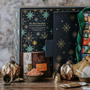 满£40享8.5折 圣诞热巧日历上线!一年一次:Whittard 2021圣诞日历 | 限定热巧/咖啡/热巧/风味茶