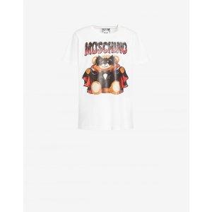 Moschino蝙蝠小熊T恤