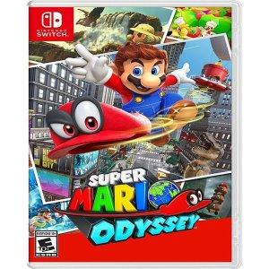 现价€38.85(原价€58.85)《超级马里奥:奥德赛》 Nintendo Switch 实体游戏 特价