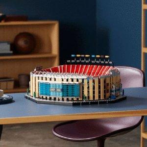 $329.99蝙蝠战车接受预定新品上市:LEGO乐高 巴萨罗那主场诺坎普、黑暗骑士版蝙蝠车