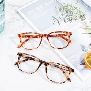 第一副眼镜免费GlassesShop 时尚眼镜促销 超多款式任选