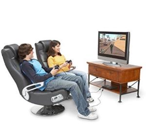 近史低价$192.72(原价$323.81)X Rocker Pedestal 无线游戏座椅