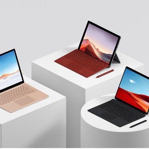 全场8.5折Microsoft Surface 系列轻薄办公本