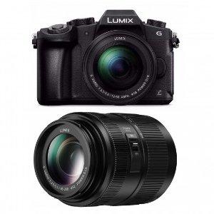 $797.99 送 Rode 定向麦Panasonic LUMIX G85 VLOG套装 双镜头 + 三防收纳箱