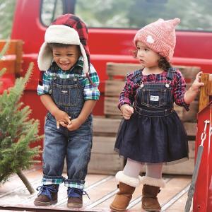 低至5折 纯棉内裤$2.4/条OshKosh BGosh 儿童服饰鞋履优惠 含新品 手套2双$5