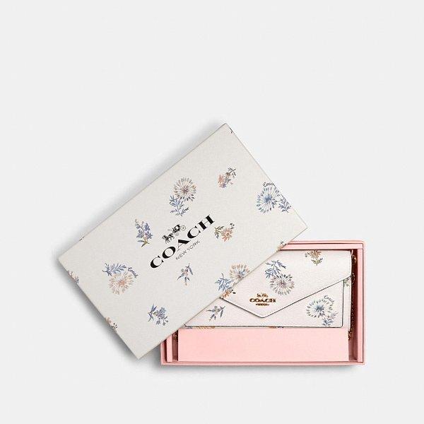 印花钱包 带礼盒