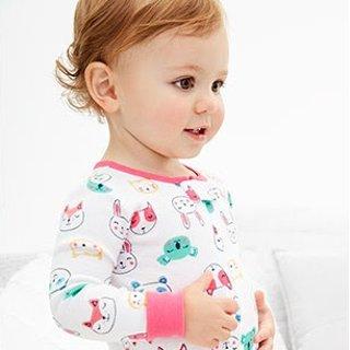 包邮 收新生宝宝系列、有机棉即将截止:Carter's官网 全站4.5折以下+无门槛7.5折+包邮两日热卖