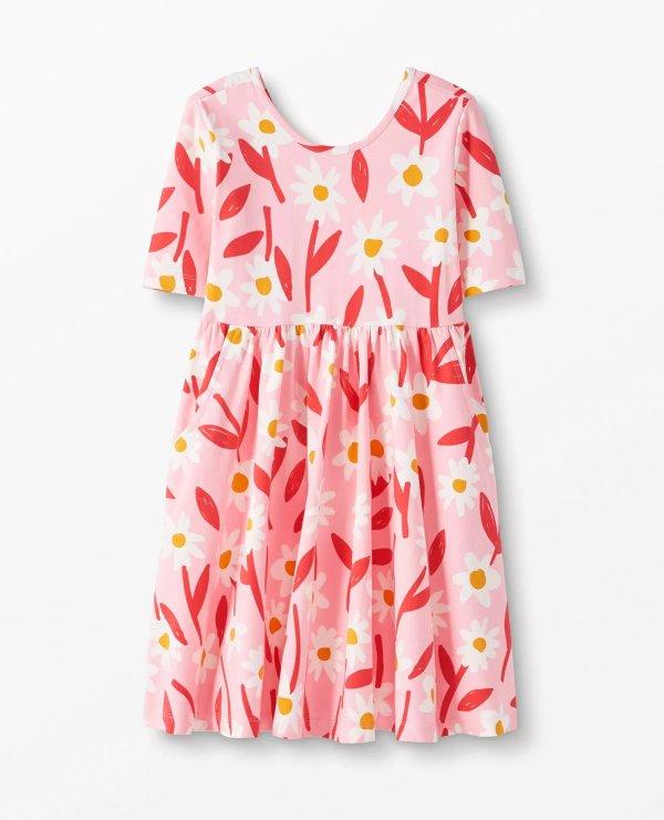 花朵连衣裙