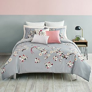 Ted Baker London Flight of the Orient Reversible Duvet Cover Set - Bed Bath & Beyond