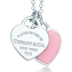 约$156起 日亚直邮澳洲限今天:Tiffany & co. 经典款爱心纯银项链 特卖