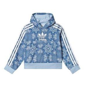 7折+额外8.5折Adidas儿童运动服饰年末热卖 大童款成人可穿
