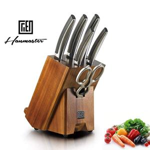 独家:Hanmaster 非洲黑檀木刀具7件套