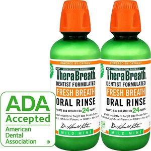 $12.46TheraBreath Fresh Breath Oral Rinse Dentist Formulated