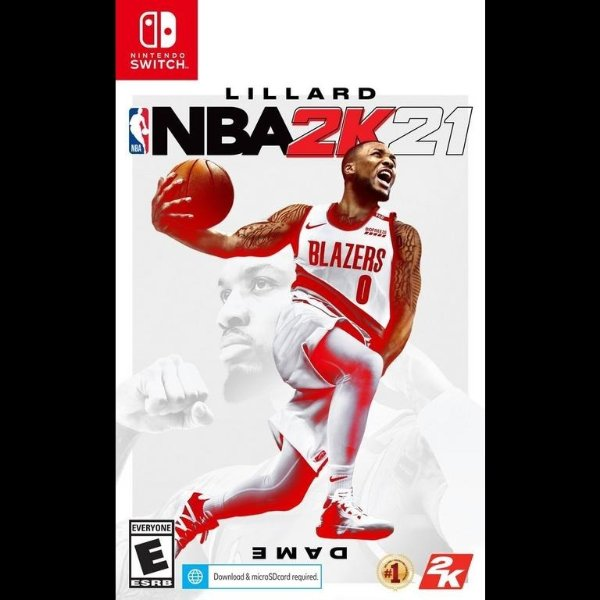 NBA 2K21 Switch 实体版