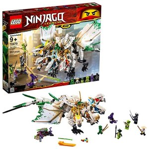 686359209d96d LegoNinjago Legacy The Ultra Dragon 70679 Building Kit , New 2019 (951  Piece)