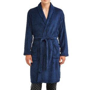 As low as $8.99Men's Soft Plush Body Bath Robe Sale
