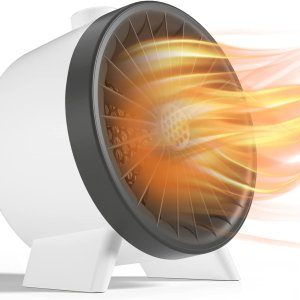 低至6折 £16收暖风机Amazon 保暖神器专场 降温不怕 电暖气、小太阳 伴你温暖秋冬
