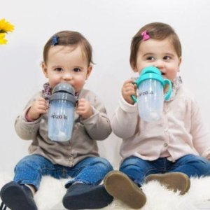 $21Zoli BOT 2.0 Sippy Cup 2-Pack