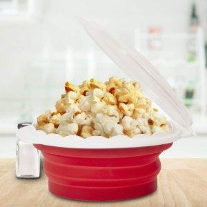 $16.92 (原价$27.99)Cuisinart 微波炉专用硅胶爆米花碗 Pop and Serve一碗搞定