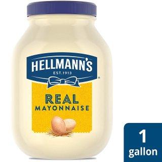 现价$8.3(原价$11.89)Hellmann's 真蛋黄酱 1加仑家庭装