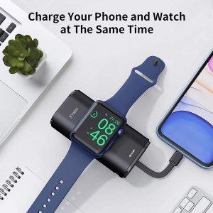 折后€42.49 也能充iPhoneiWALK 移动电源热促 专为Apple Watch 设计