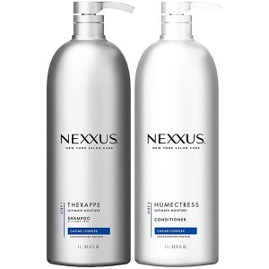 $30Nexxus Hydrating Shampoo and Conditioner, for Normal to Dry Hair, 33.8 oz, 2 count @ Amazon